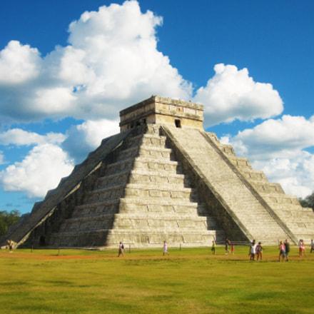 Piramide chichen itza, Canon POWERSHOT SD790 IS