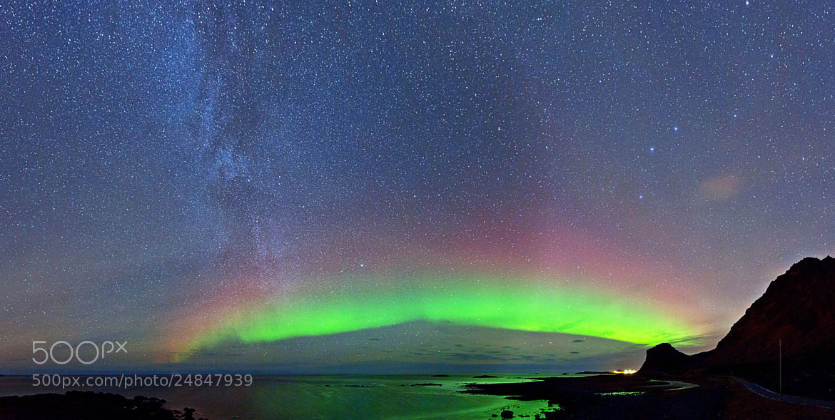 Photograph Milky Way panorama by Frank Olsen on 500px