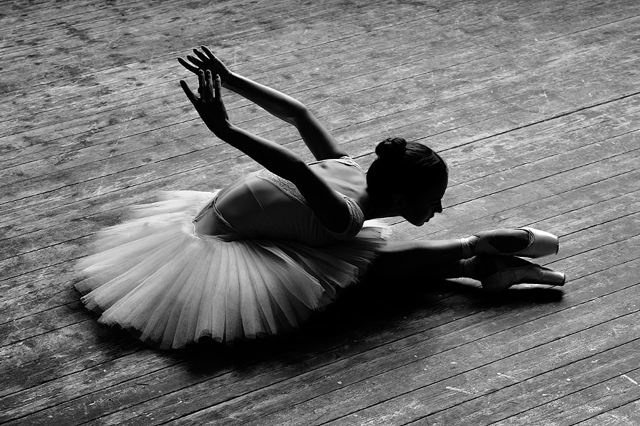 Ballerina by Alexander Yakovlev on 500px.com
