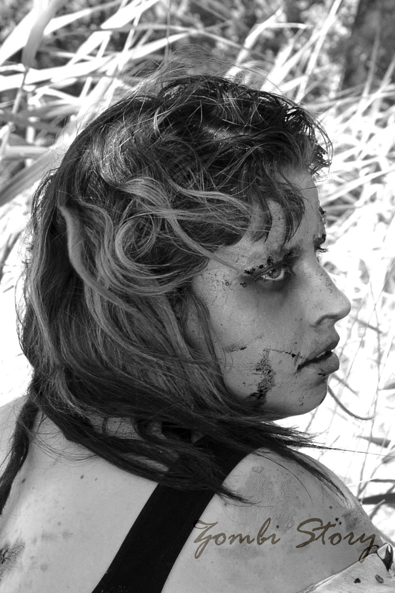 Photograph Zombi Story .- Zombi girl by Blanca Almohalla on 500px