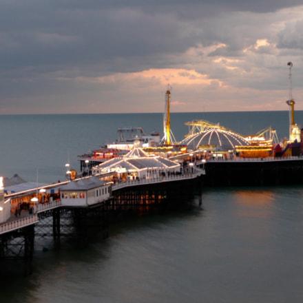 Brighton Pier, Sussex, Panasonic DMC-TZ3
