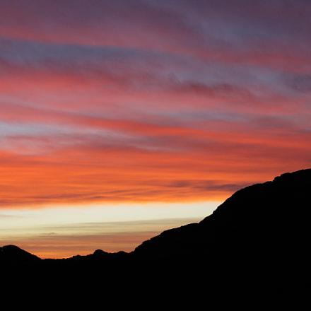合歡山火燒雲, Canon EOS 5D