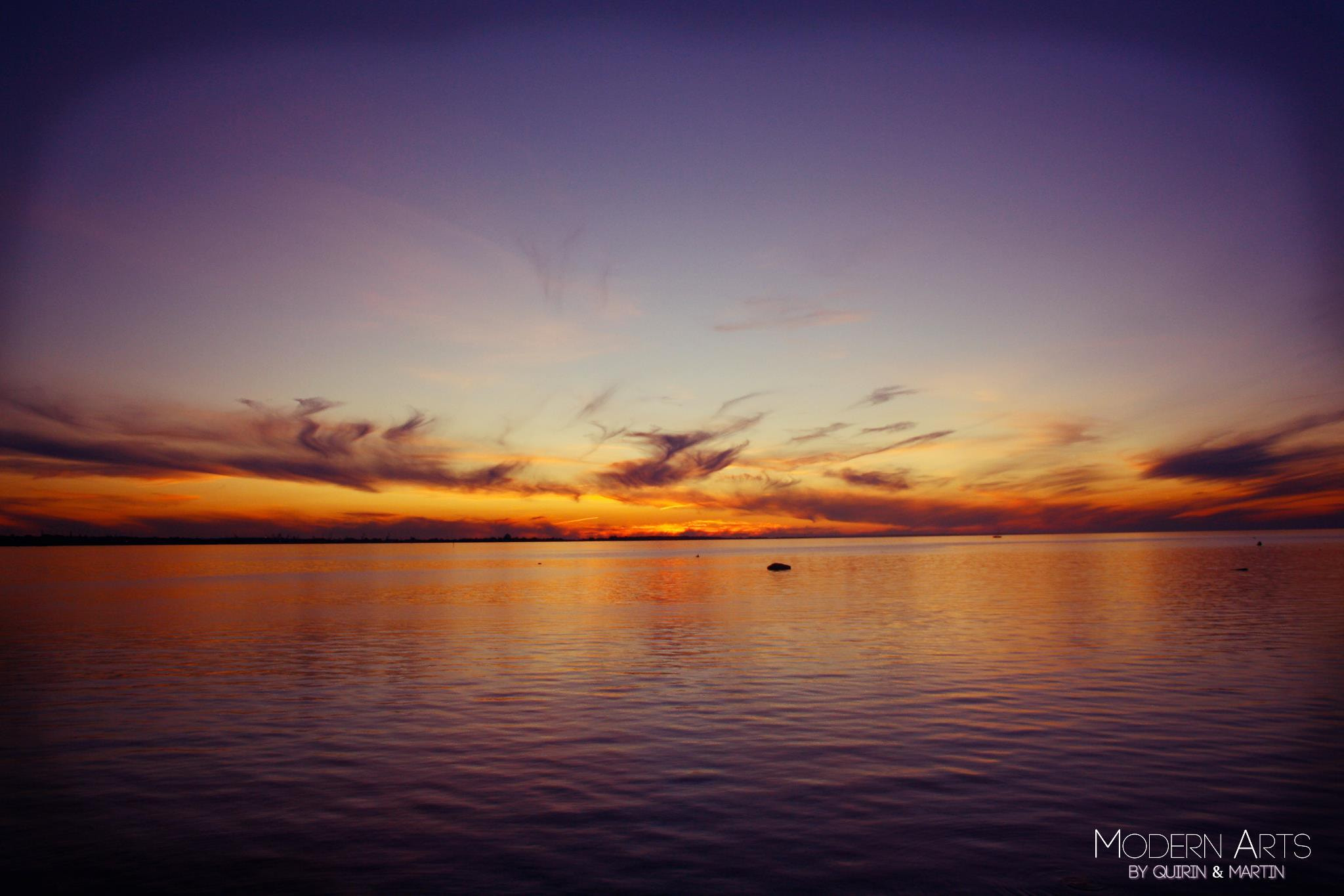 Photograph Sunset Sea by Martin S on 500px