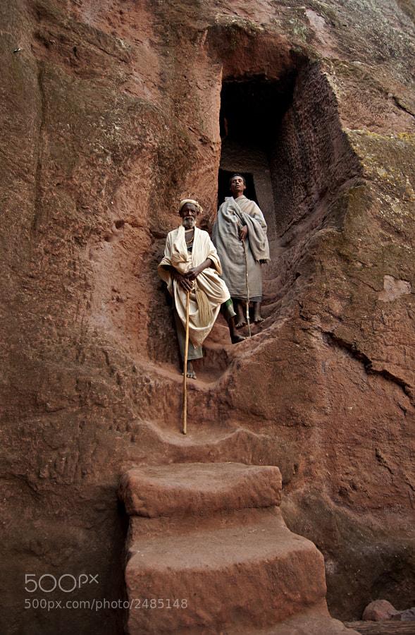 Ethiopia, Lalibela, pilgrims
