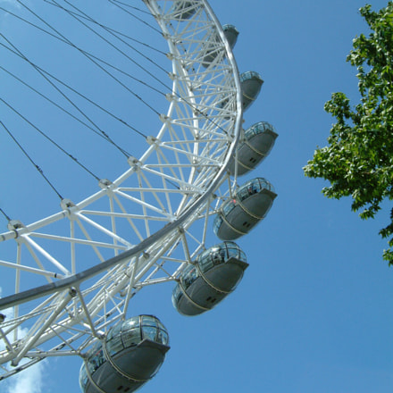 London Eye, Fujifilm FinePix F601 ZOOM