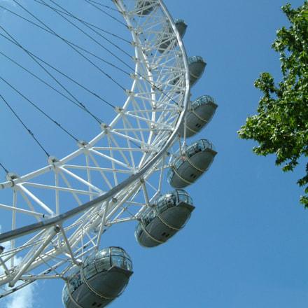 London Eye, Fujifilm FinePix F601 ZOOM