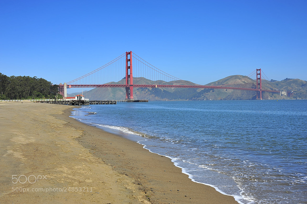 Photograph The Golden Gate by Angelo Ferraris on 500px