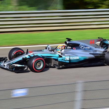 Lewis Hamilton / Belgium GP 2017