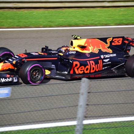 Max Verstappen / Belgium GP 2017