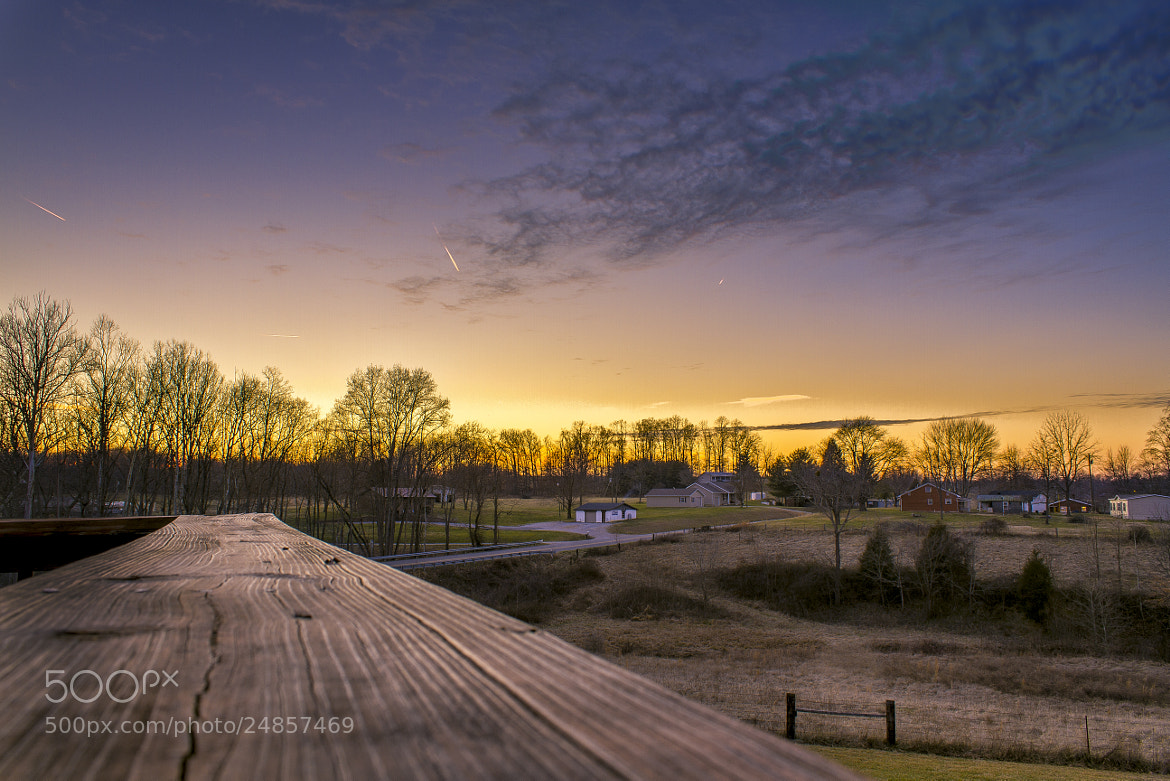 Photograph Winter Sunset by Jonathan Goforth on 500px