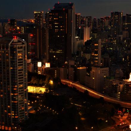 Tokio night, Pentax K-30, smc PENTAX-FA 35mm F2 AL