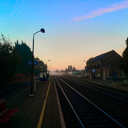 Wondelgem Train Station @ Dusk, Samsung Galaxy S2 Plus