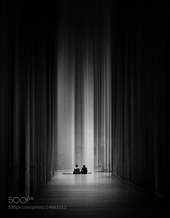 Photograph together b&w by Max Ziegler on 500px