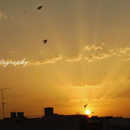 Sunset August Malta 2017, Panasonic DMC-TZ57