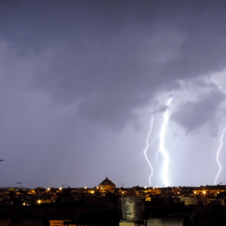 Thunderstorm Malta Dec 2016, Panasonic DMC-TZ57
