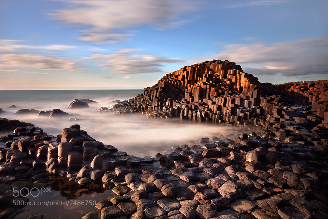 Photograph Hexagonal Basalt by Stephen Emerson on 500px