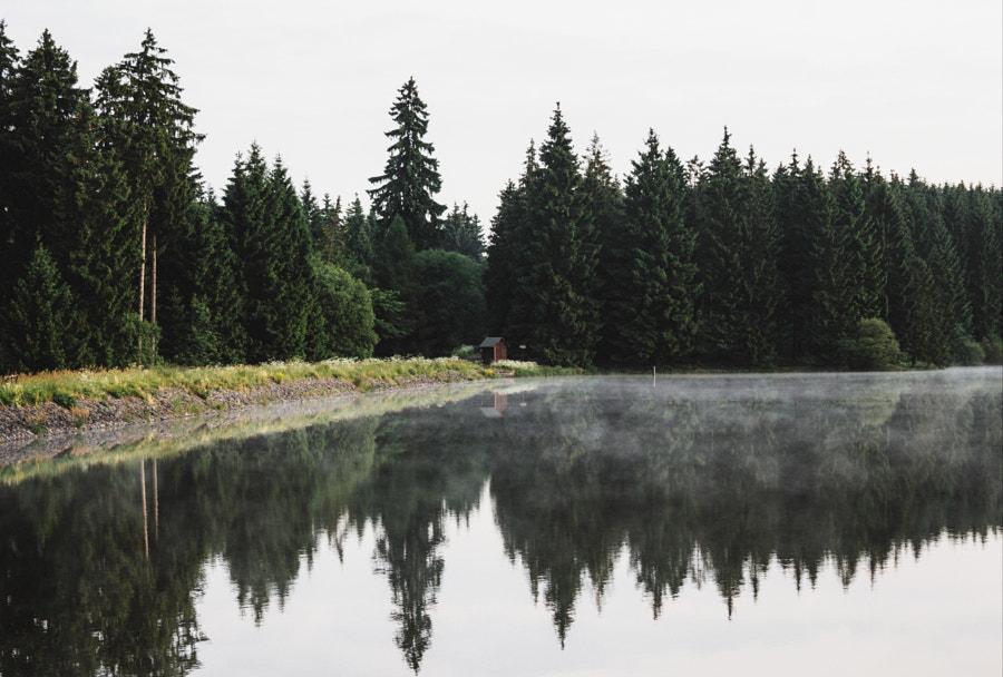 Harz Mountains Lake by Benedikt Braun on 500px.com