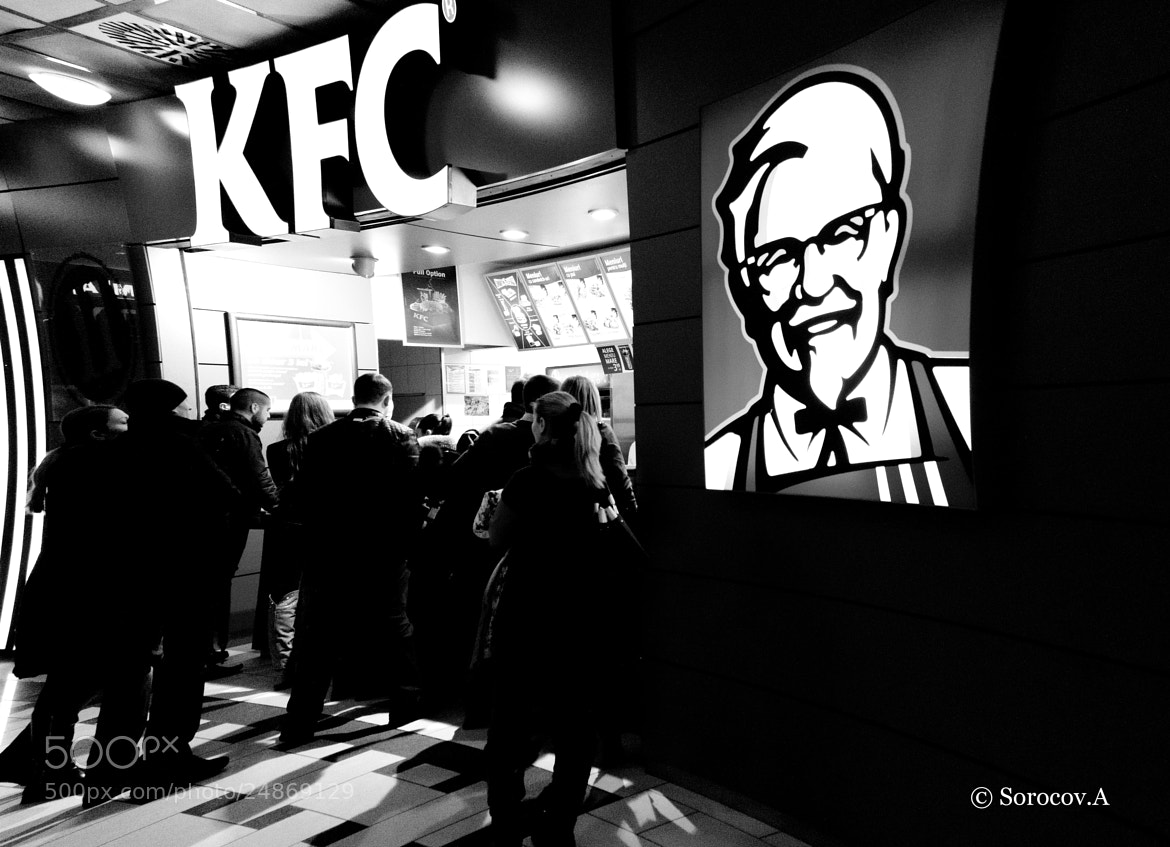 Photograph Fastfood kills by Aliona Sorocov on 500px