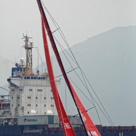 Volvo Ocean Race 2018, Canon EOS 5D MARK III, Canon EF 400mm f/5.6L