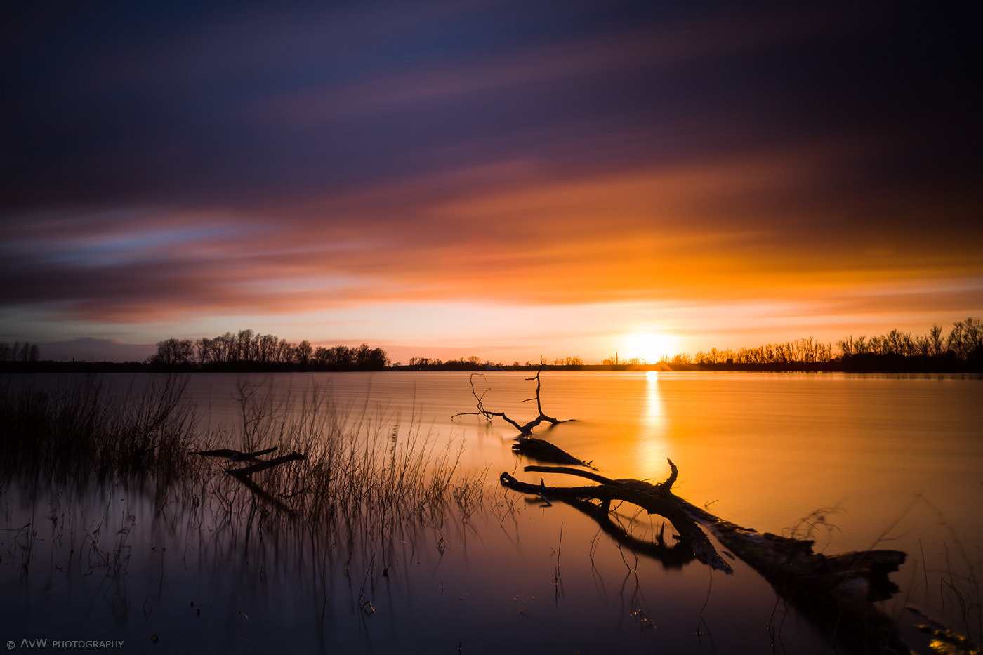 Photograph Sunset @ Bemmelse Waard by Arnold van Wijk on 500px