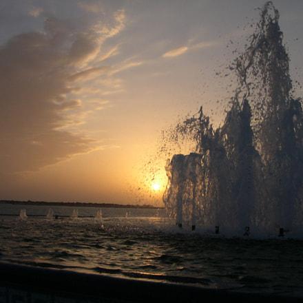 Sunset in Abu Dhabi, Nikon E4300