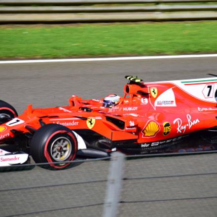 Kimi Raikkonen / Ferrari F1 / Belgium GP 2017