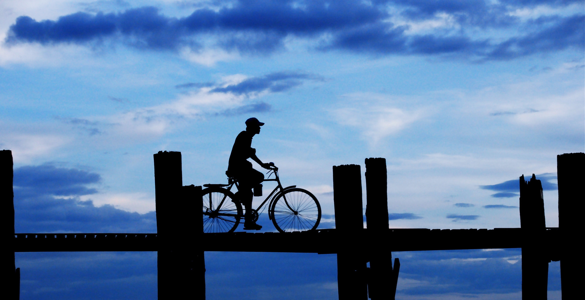 Photograph riding blue by Emanuele Molinari on 500px