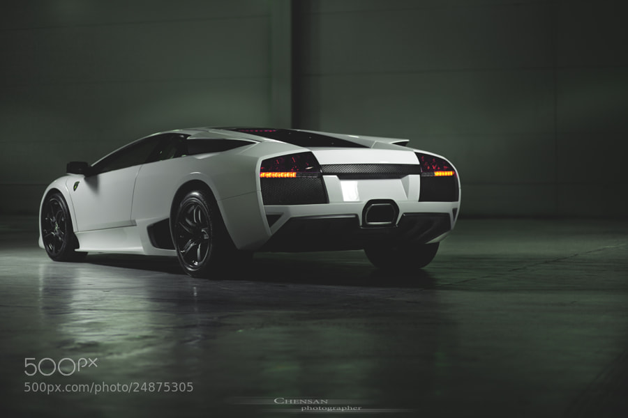 Photograph Lamborghini murcielago lp640 . by Chensan  by Аlexey  Chensan on 500px