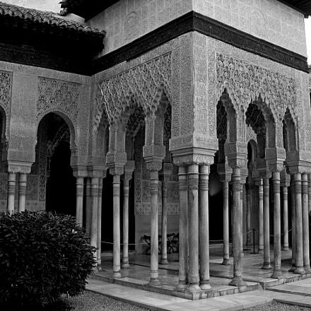 Granada Alhambra Patio de, Nikon E5200