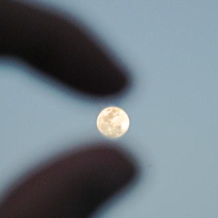 moon, Canon IXUS 140