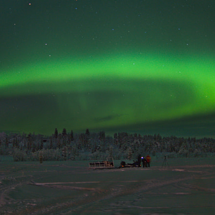 Lapland northern light, Sony ILCA-77M2, Sony DT 35mm F1.8 SAM (SAL35F18)