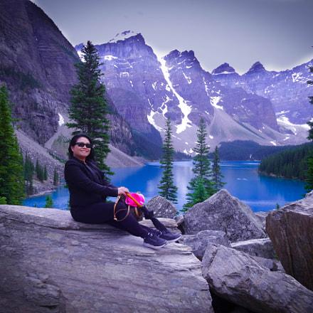 Vilma Moraine Lake, Sony DSC-WX300
