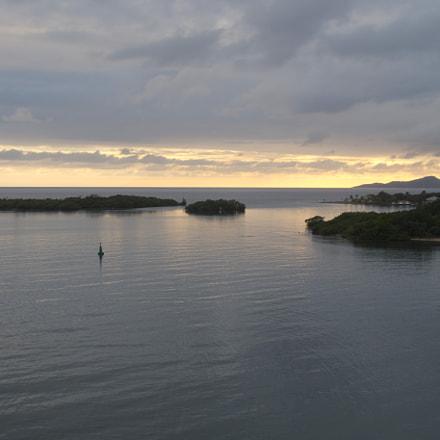 Sunsent on Mahogany Bay 1, RICOH PENTAX K-S2, smc PENTAX-DA L 18-50mm F4-5.6 DC WR RE