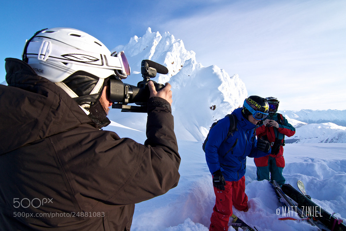 Photograph Behind the Scenes by Matt Ziniel on 500px