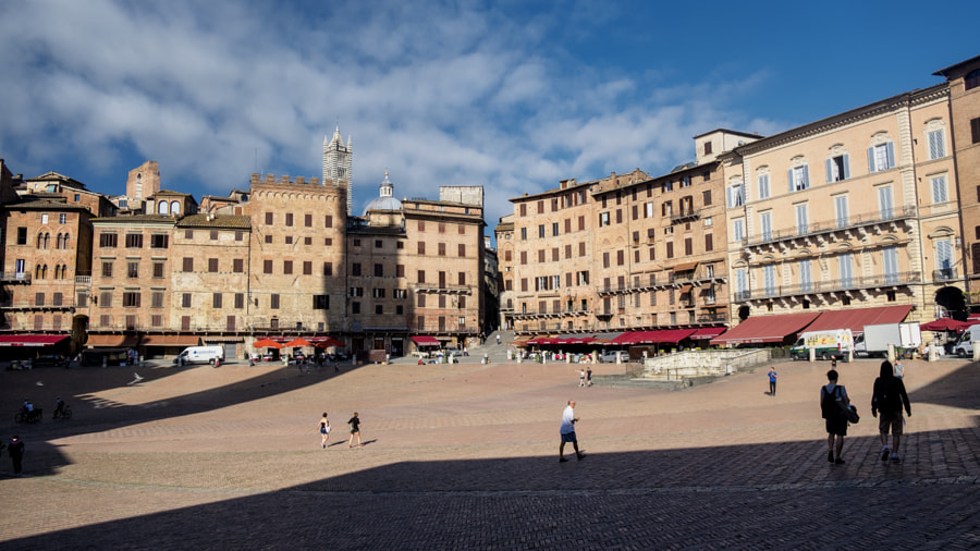 Siena, Italy: Piazza del Campo by Claudio G. Colombo on 500px.com