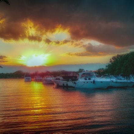 Saint Laurent sunset