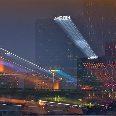 District 1_Saigon at night, Nikon D7200, AF Zoom-Nikkor 80-200mm f/2.8 ED