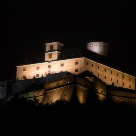 Burg Forchtenstein nachts