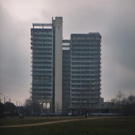 Soviet building, Fujifilm FinePix JZ500