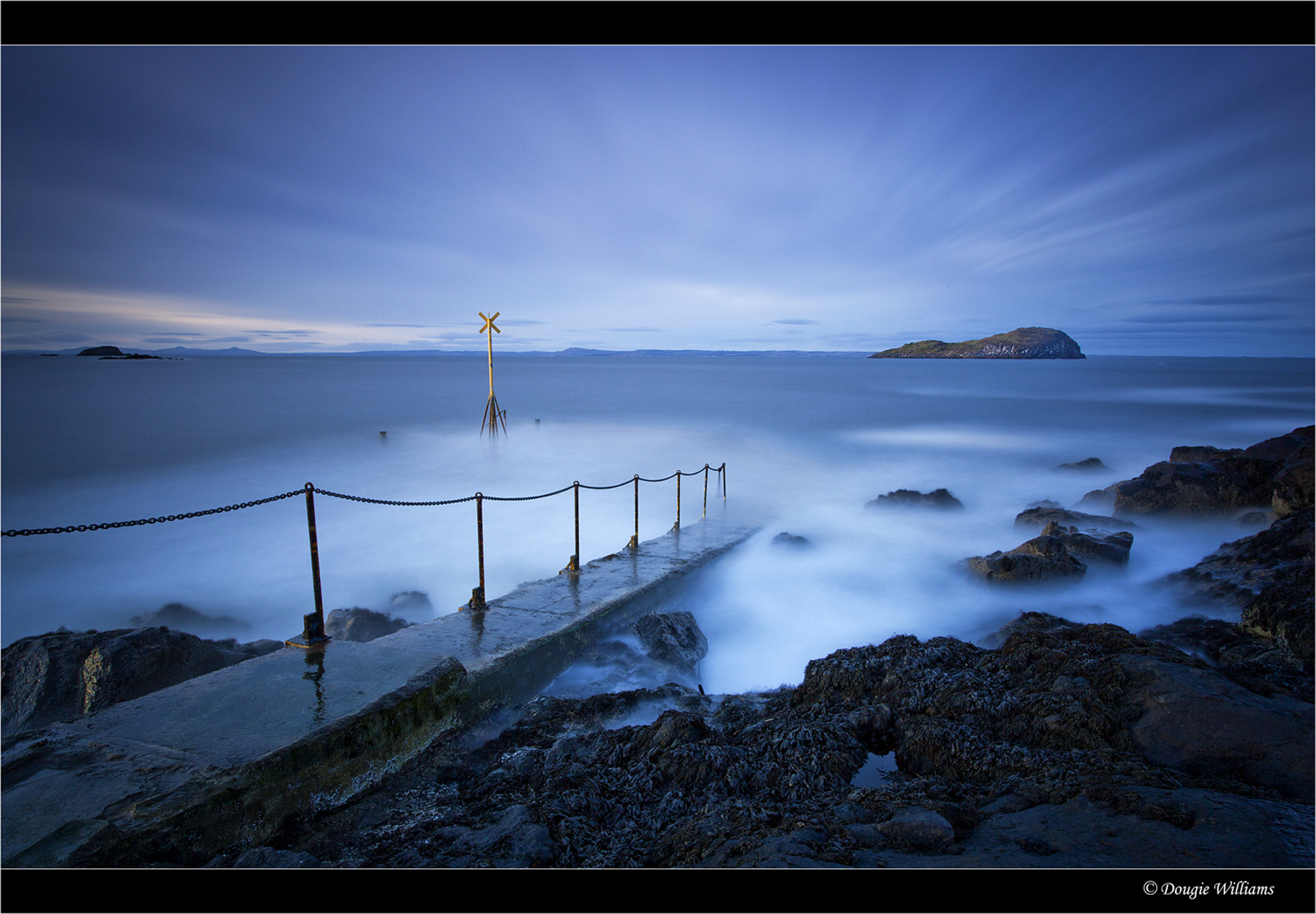 Photograph North Berwick Pier by Dougie Williams on 500px