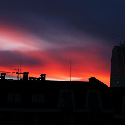Burning sky, Canon EOS 80D