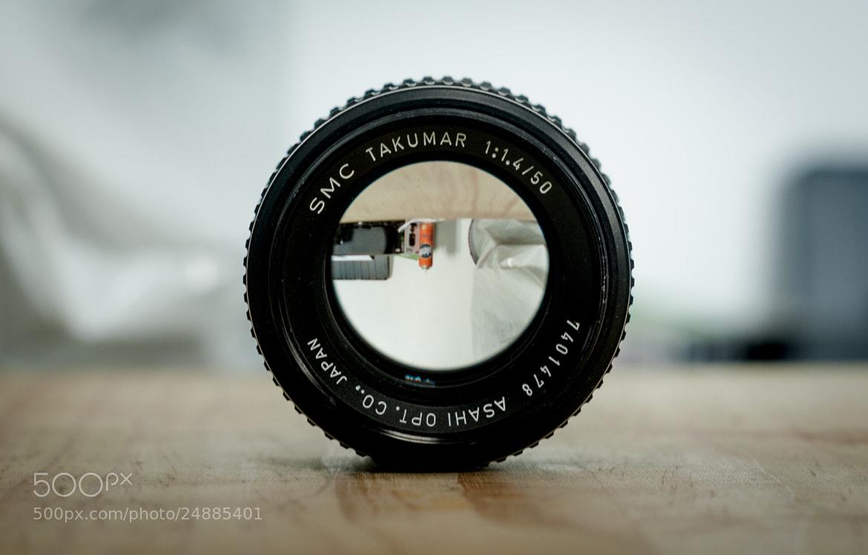 Photograph Asahi SMC Takumar 50mm f1.4 Mount M42 by Mariano Gila on 500px