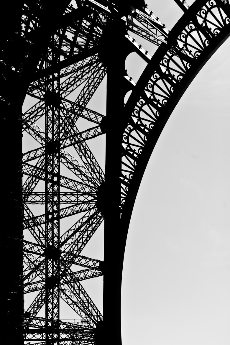 Photograph Eiffel Tower Silhouette 3 by Melissa Crain on 500px