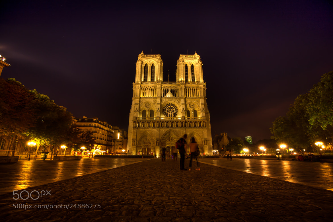 Photograph Warm Notre Dame Nights by Melissa Crain on 500px
