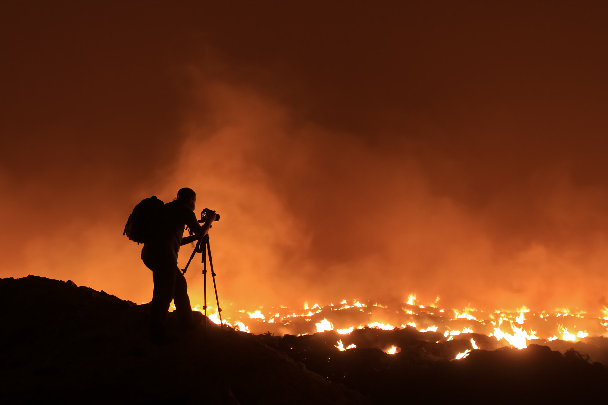Photograph Photographer on Fire by Husain Al-Hashemi on 500px