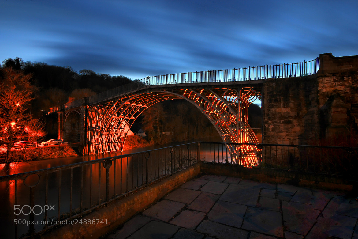 Photograph Ironbridge @ night by Tony Jones on 500px