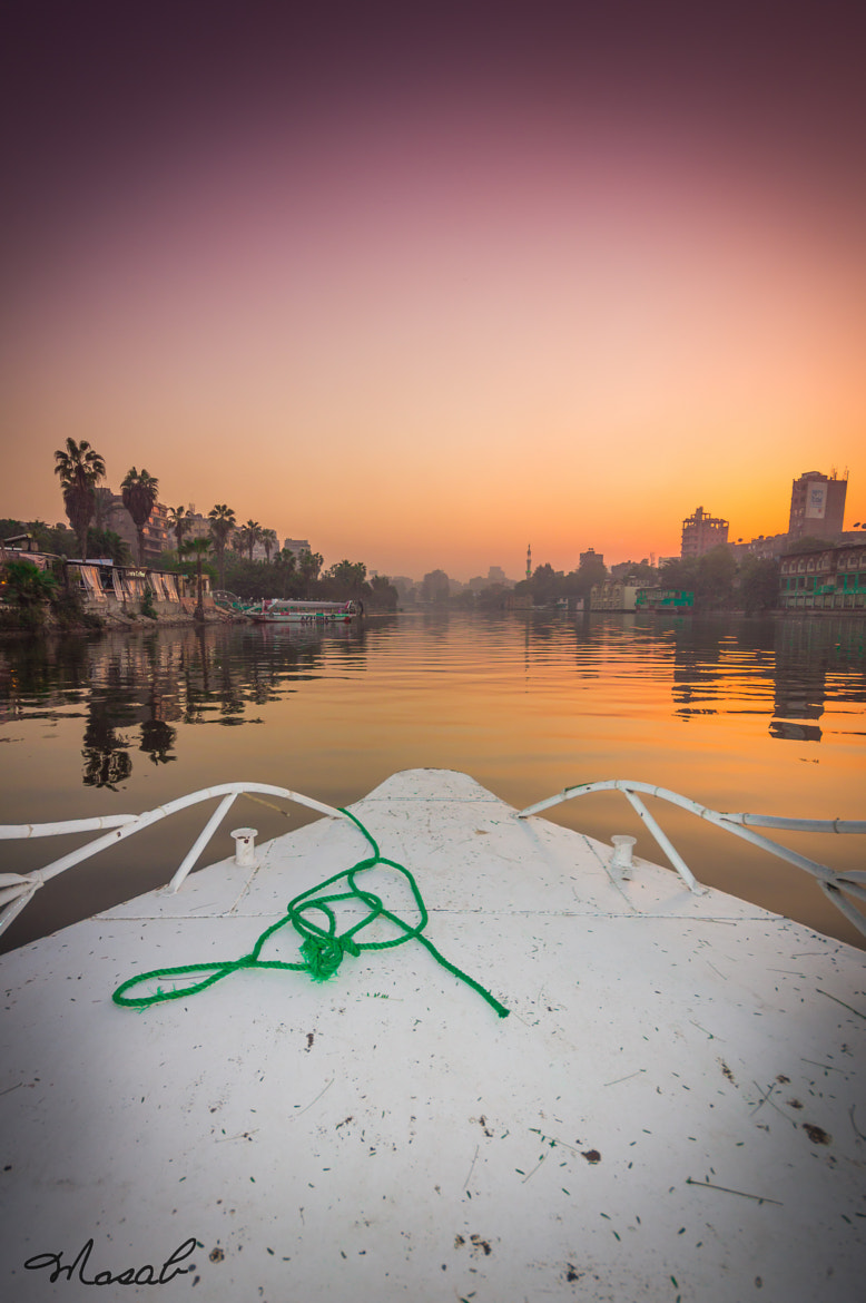 Photograph Through The Nile by Mosab AlSobhi on 500px