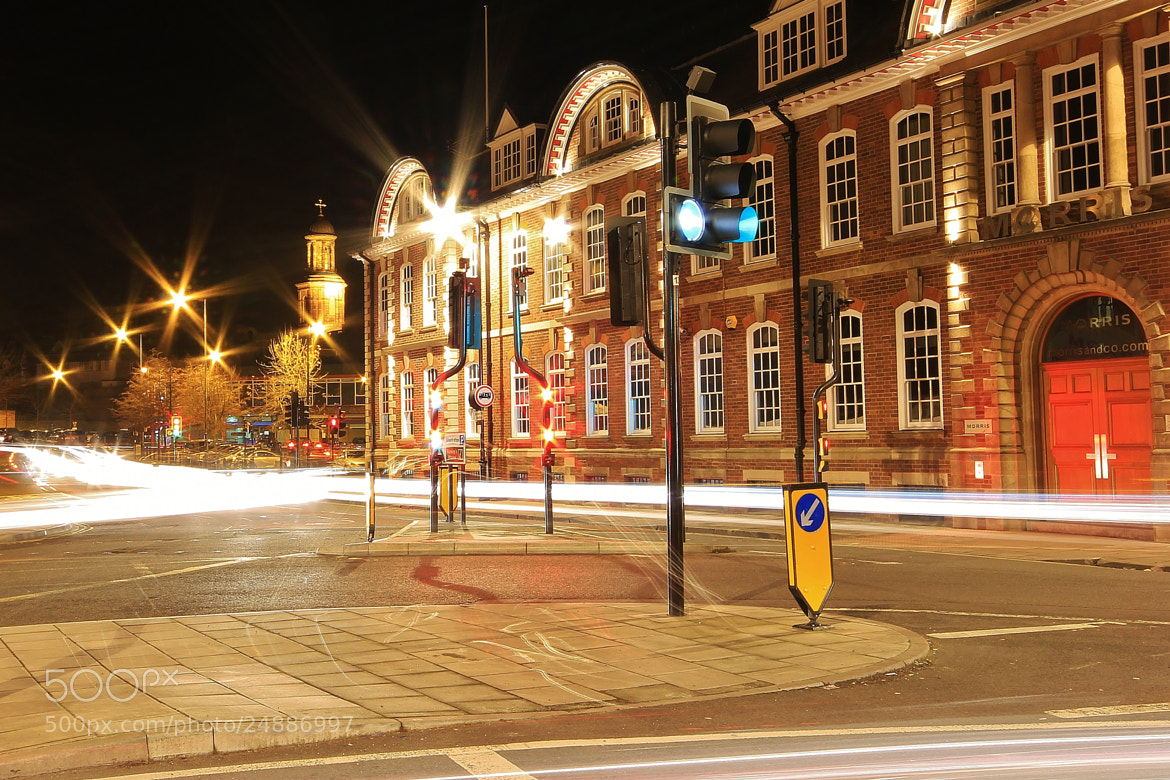 Photograph Traffic Trails at Traffic Lights by Tony Jones on 500px