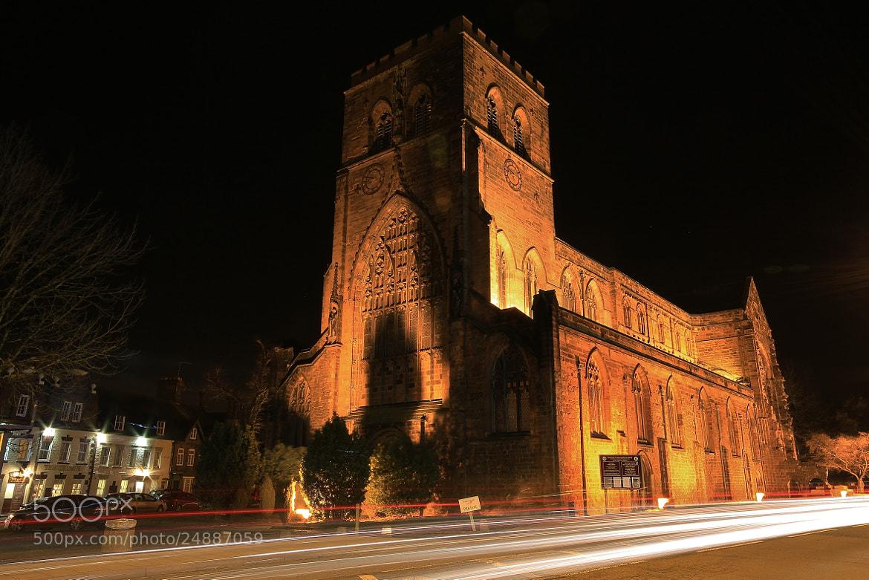 Photograph Night Abbey by Tony Jones on 500px