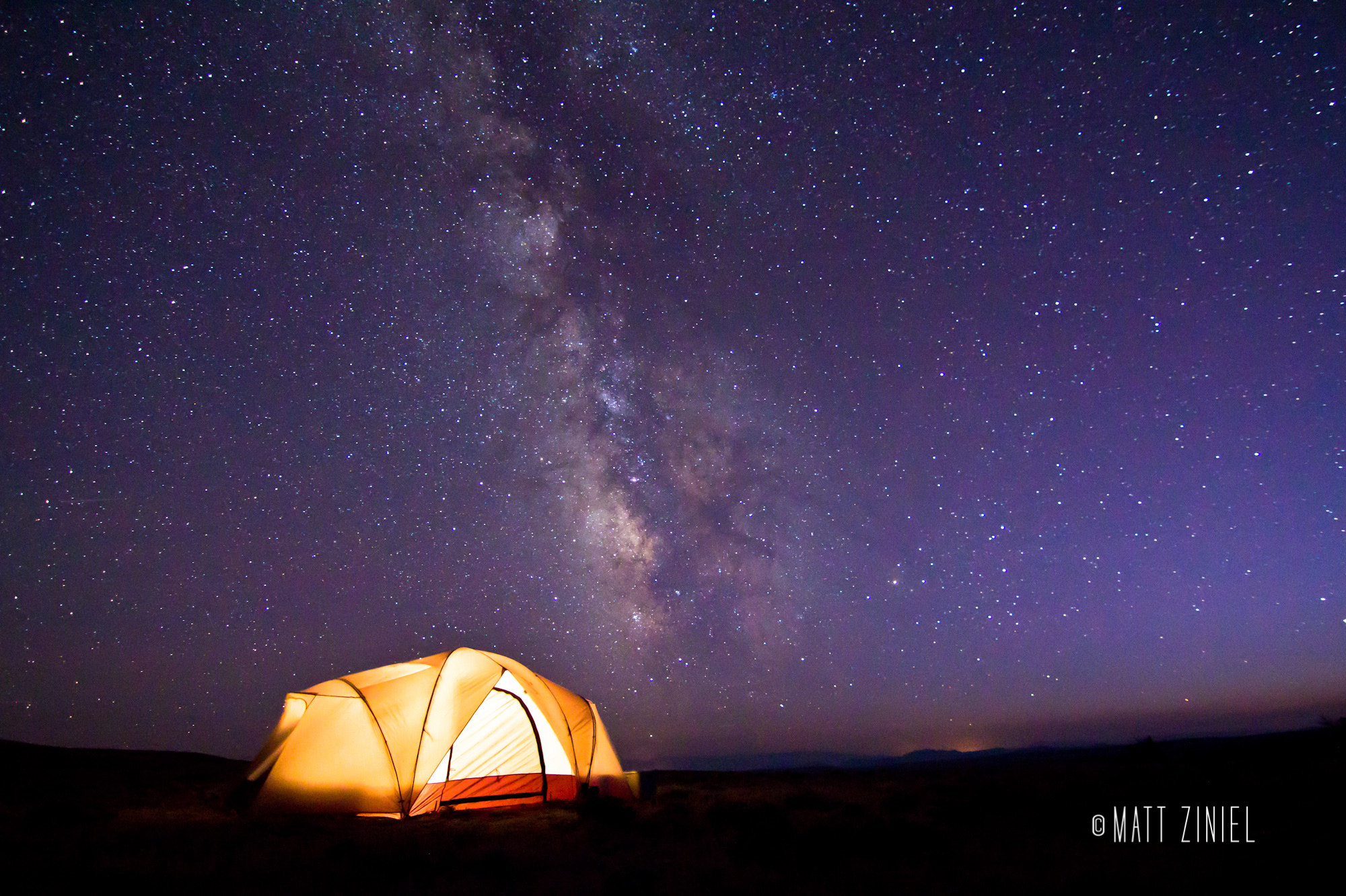 Photograph Wyoming Nights by Matt Ziniel on 500px